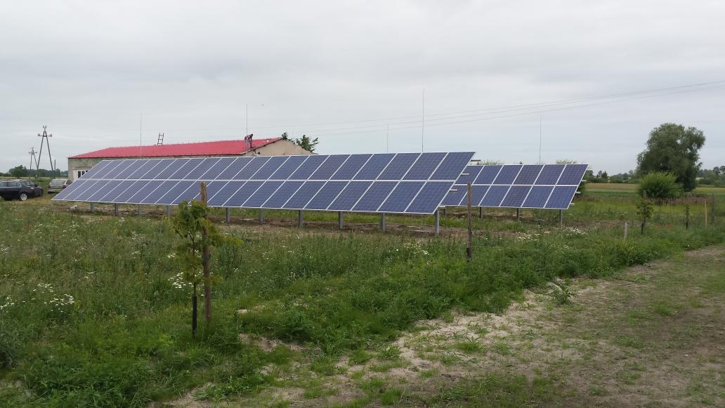 Instalacja PV o mocy 21,84 kWp -