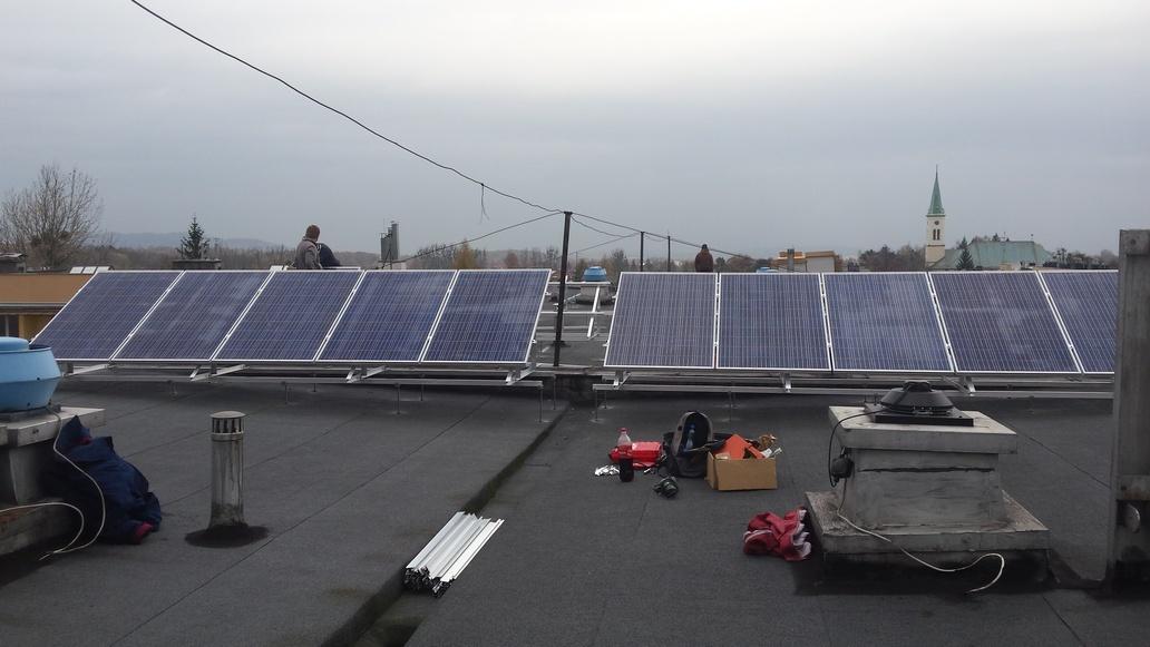 Instalacja PV 12,5 kWp - Ustroń