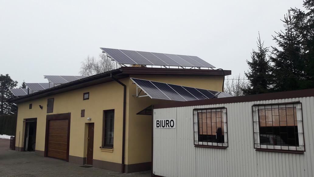Instalacja PV 9,625 kWp Dąbrówka