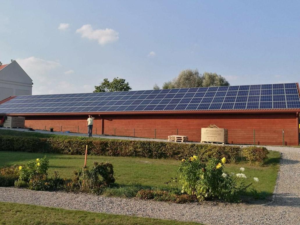 Instalacja PV - Kodeń - 39,44 kWp