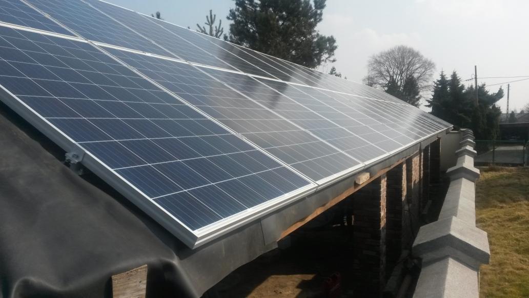 Instalacja PV 9,90 kWp Mikołów