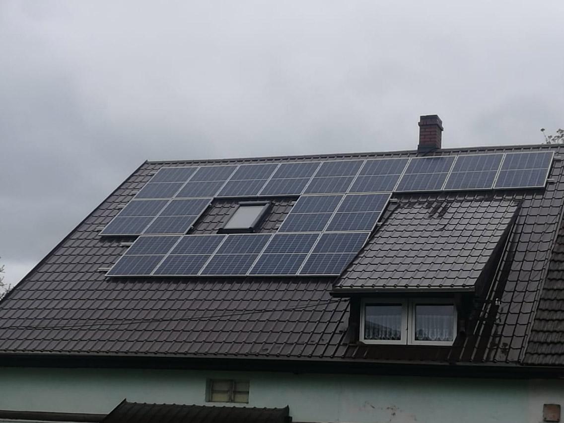 Instalacja PV Żelazno 5,4 kWp